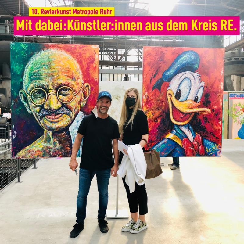 Marcel Kozik(Künstler)und Monika Schmidt